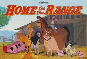 Meet the cast of Disney's HOME ON THE RANGE!
