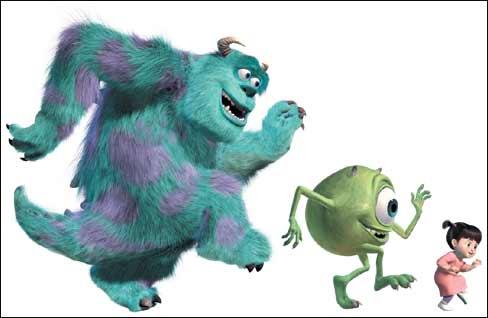 Monsters, Inc  (2001)