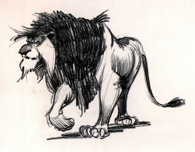 Early concept for Scar